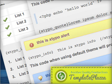 XTypo Plugin for Joomla 1.7