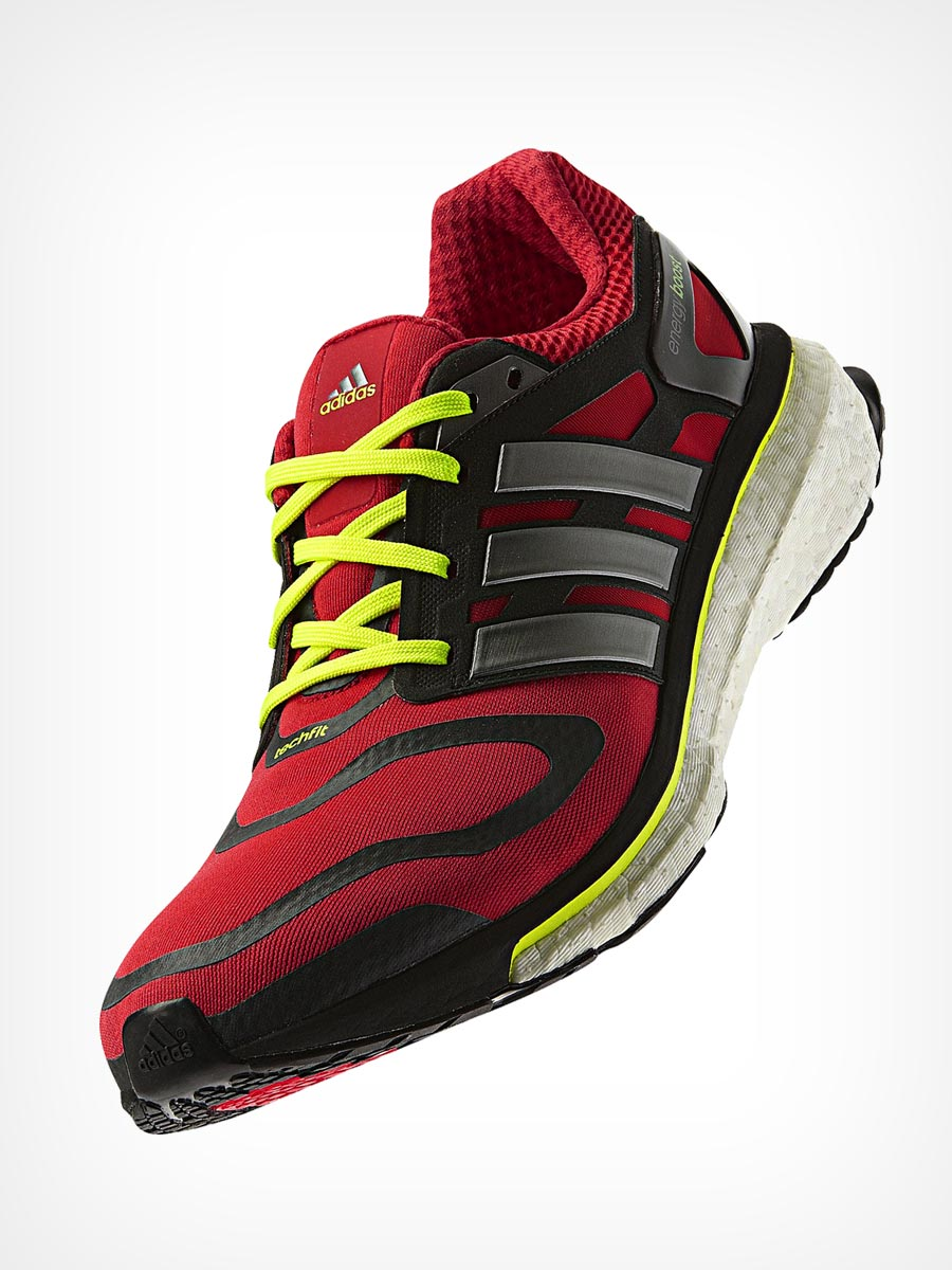 Dark Red Running Shoes